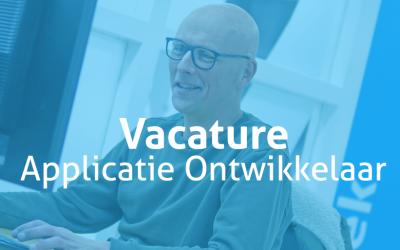 Vacature | Applicatie Ontwikkelaar (fullstack)