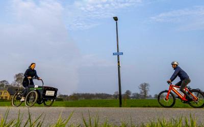 Zonder files naar je werk over de F50: vlot en veilig fietsen